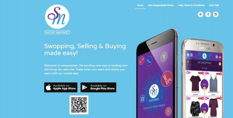 swopmarket bartering mobile application