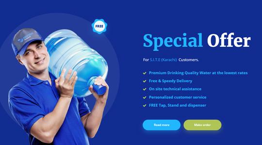 premium quality drinking water